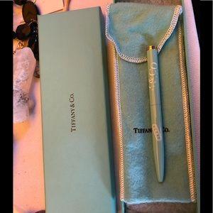 Tiffany & Co 1837 ball point pen, vintage